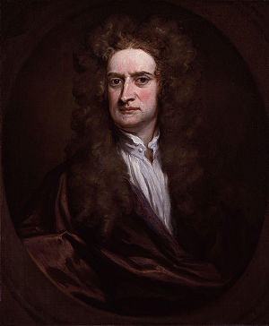 Isaac Newton - Newton in a 1702 portrait by Godfrey Kneller