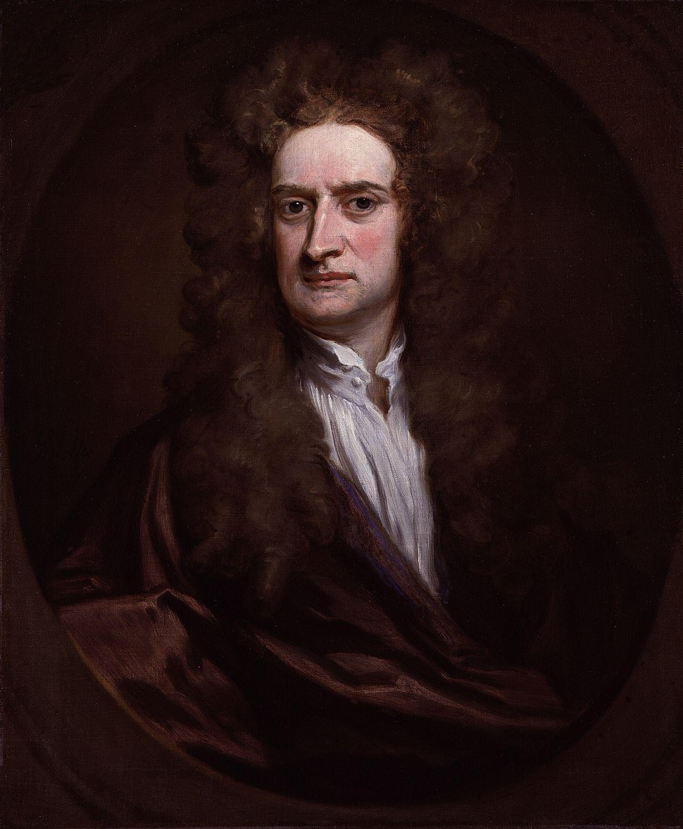 Sir Isaac Newton by Sir Godfrey Kneller, Bt