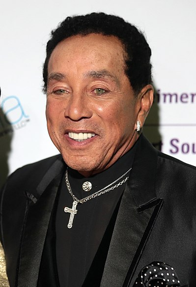 Smokey Robinson, American R&B singer-songwriter and record producer
