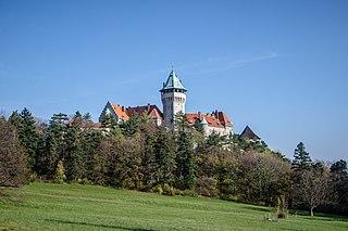 Smolenice Village in Slovakia