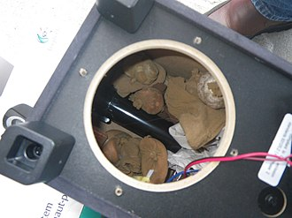 Traffic (conservation programme) - Snakes smuggled in a speaker, the type of animal trafficking TRAFFIC tries to cease