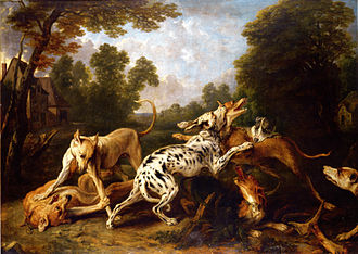 Animal painter - Image: Snyders Dogs fighting