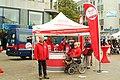SoVD Sozialverband Deutschland, Info-Stand So geht sozial, Rente, Pflege, Behinderung, Gesundheit, Hartz IV, beim bundesweiten Aktionstag Umfairteilen, hier in Hannover.jpg