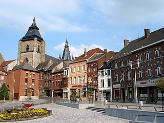 Soignies Municipality in French Community, Belgium