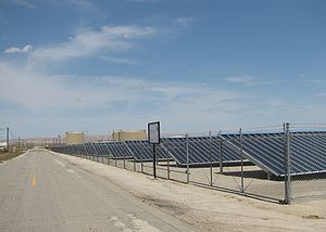 Chevron Corporation - Chevron's 500kW Solarmine photovoltaic solar project in Fellows, California