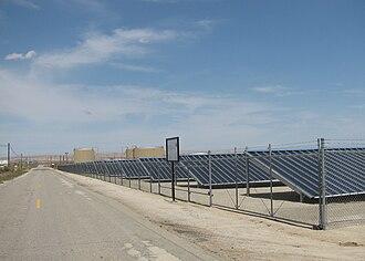 Chevron Corporation - Chevron's 500kW Solarmine photovoltaic solar project in Fellows, California