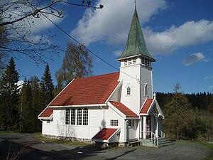 Sollihøgda - Sollihøgda Chapel, exterior