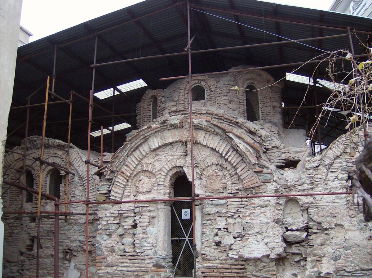 Архитектура Византии. Solun - bizantsko kupaliste.jpg