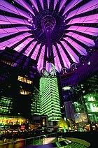 photo of Potsdamer Platz at night