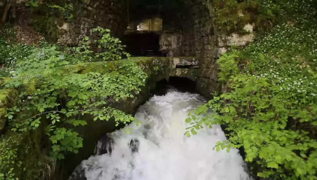 The Source du Martinet near Vaire-Arcier, France