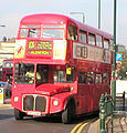 Sovereign Routemaster bus RM23 (JFO 256) route 13 Golders Green 17 October 2005.jpg