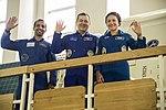 Soyuz MS-15 crewmembers during their final qualification exams (2).jpg