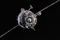 Soyuz TMA-10M spacecraft approaches the ISS.jpg