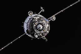 Soyuz TMA-10M spacecraft approaches the ISS.jpg