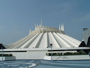 Space Mountain (Disneyland) - Image: Space Mountain Top Platform