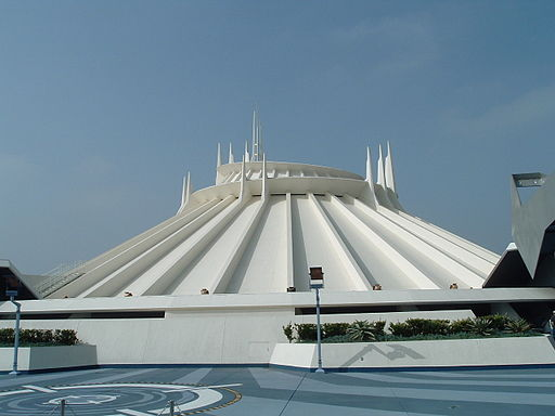 Space Mountain Top Platform