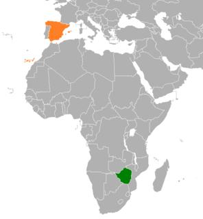 Spain–Zimbabwe relations Bilateral relations between Spain and Zimbabwe
