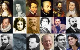 Description de l'image Spanish people - mosaic.PNG.