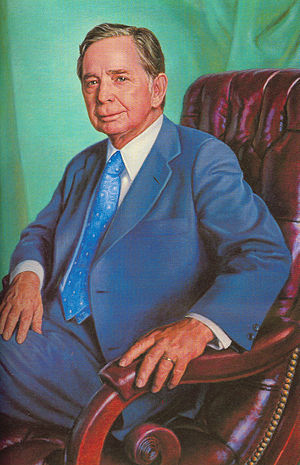 Carl Albert - Official portrait as Speaker