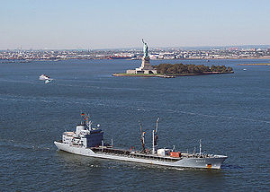 Spessart (A 1442) entering New York Harbor.jpg