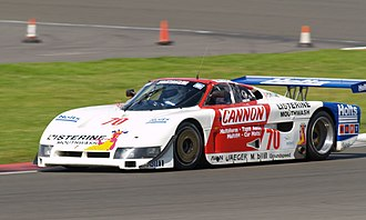 Spice Engineering - One of the first SE86 chassis, which ran under the name Pontiac Fiero GTP