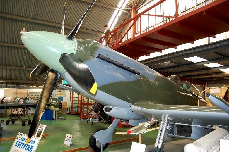List of surviving Supermarine Spitfires - Howling Pixel