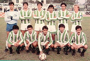 Club Sportivo Estudiantes - Sportivo Estudiantes team of 1989-90.
