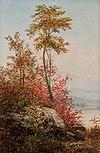 Весенние деревья на берегу реки Уильям Чарльз Энтони Frerichs.jpg