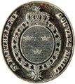 Stämpel för guvernör över den svenska kolonin S-t Barthélemy, Västindien, 1784-1877 - Livrustkammaren - 102551.tif