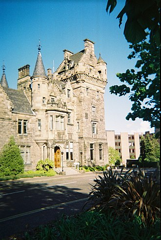 St Trinian's School - St. Leonard's Hall, Pollock Halls of Residence, Edinburgh University.  Home of St Trinnean's School for Girls until World War II, when the school was moved to the countryside
