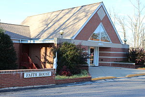St. Ann's Center for Children, Youth and Families - Image: St. Ann's Center for Children, Youth & Families Faith House