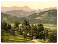 St. Anton with Wettersteingebirge, Upper Bavaria, Germany-LCCN2002696294.tif