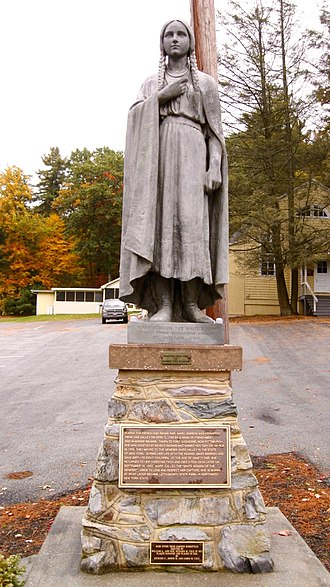 Mary Jemison - Statue of Jemison, near her home in Adams County, Pennsylvania, erected in 1921