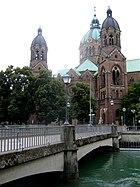St. Lukas Mariannenbruecke Muenchen-1