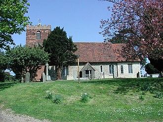 Moreton, Essex - Image: St. Mary's Moreton geograph.org.uk 1496106