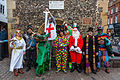 St Albans Mummers production of St George and the Dragon, Boxing Day 2015-10.jpg