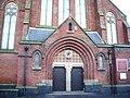 St Joseph's Roman Catholic Church, Preston, Doorway - geograph.org.uk - 661349.jpg