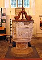 St Laurence, Wormley, Herts - Font - geograph.org.uk - 472905.jpg