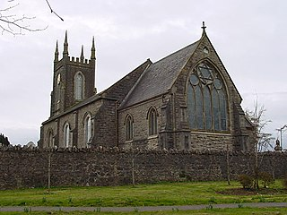 Killylea village in the United Kingdom