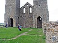 St Mary's Church, Reculver, Kent - Base of tower - geograph.org.uk - 858183.jpg
