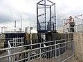 St Mary's Island river lock 4250.JPG
