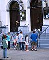 St Marys Help of Christians parishoners praying.JPG