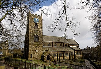 Brontë Parsonage Museum - St Michael and All Angel's Church, Haworth