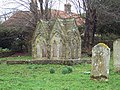 St Michael and All Angels Church, Chalton - Tomb - geograph.org.uk - 378293.jpg