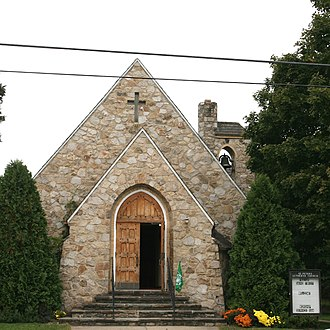 Wardensville, West Virginia - Image: St Peters Lutheran Church Wardensville