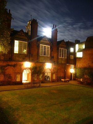 St Peter's College, Oxford - The Chavasse Building at night