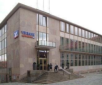 Sep Ruf - Bayerische Staatsbank Nuremberg atrium building