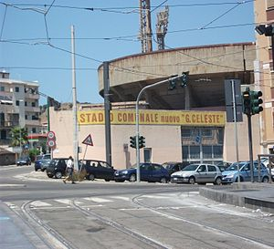 Stadio Giovanni Celeste Entrance.jpg