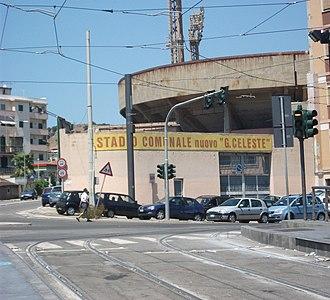 Stadio Giovanni Celeste - Image: Stadio Giovanni Celeste Entrance