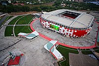 Stadium Spartak in Moscow